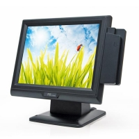 "Терминал TouchPOS355 Dual Core, черн.(15"" сенс., C48, Dual Core 1,8GHZ, 1Gb, 160Gb MSR3),fanless, без ОС"