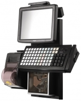 "POS-комплект 10,4"" Posiflex Retail Профи черный, Windows POSReady 2009"